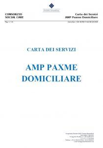Anteprima di un documento pdf AMP Paxme Domiciliare